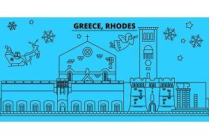 Greece, Rhodes winter holidays