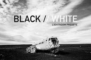 Lightroom Presets: Black & White
