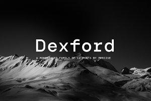 Dexford / Typefamily 12 fonts