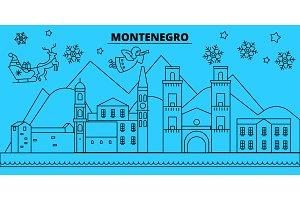 Montenegro, Montenegro winter