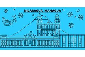 Nicaragua, Managua winter holidays