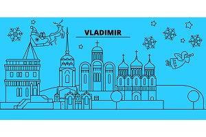 Russia, Vladimir winter holidays