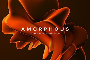 Amorphous: Experimental 3D Shapes