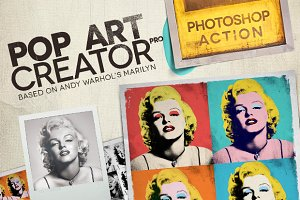 POP ART Creator PRO - PS Action
