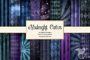 Midnight Circus Backgrounds