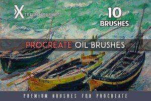 Procreate Oil Brushes
