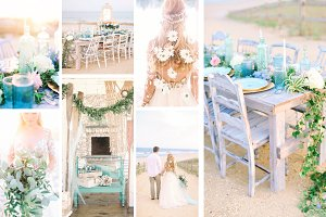 Seaside wedding bundle
