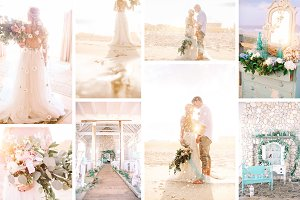 Beach wedding bundle