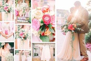 Colorful wedding bundle