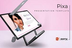 Pixa - Powerpoint Template