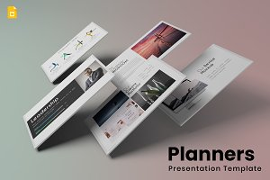 Planners - Google Slides Template