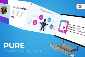 Pure - Powerpoint Template