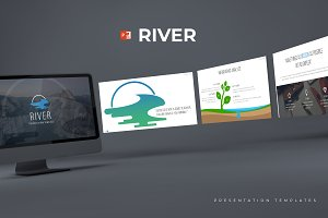 River - Powerpoint Template