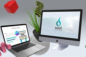 Soul - Google Slides Template