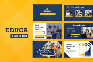 Educa Education Powerpoint
