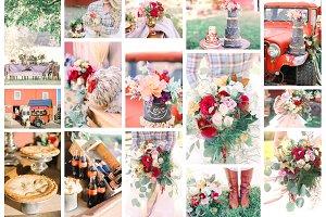 Barn wedding stock bundle