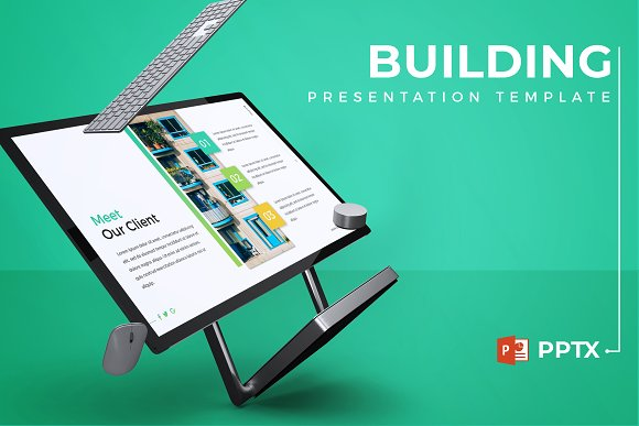 building powerpoint template presentation templates creative