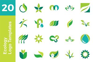 20 Logo Ecology Template Bundle