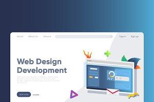 Web - Banner & Landing Page