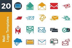 20 Logo Mail Templates Bundle