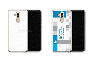 Huawei Mate 20 Lite 2d PC Clear Case