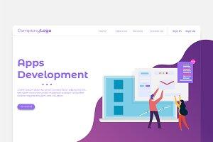 Apps Development - Banner & Landing