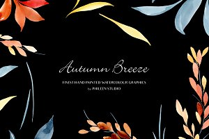 Flower Clip Art - Autumn Breeze