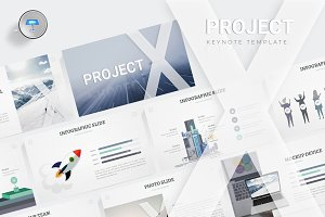Project X - Keynote Template