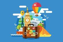 Traveller set on summer vacations