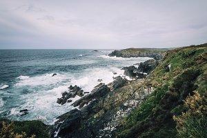 Atlantic cliffs