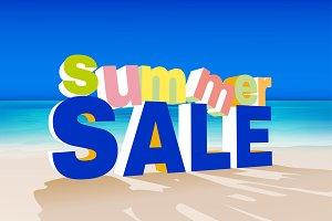 Summer Sale Graphic Set