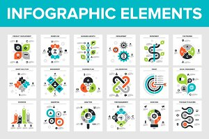18 Business Infographic Elements