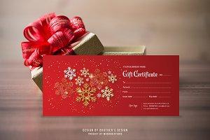 Gift Certificate Template V1