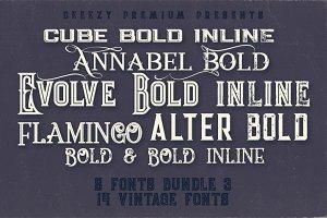 5 Fonts Bundle 3