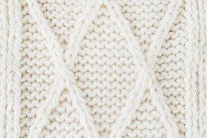 Woolen plaid texture