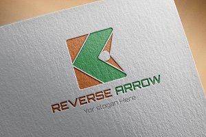 Reverse-Arrow Logo Template