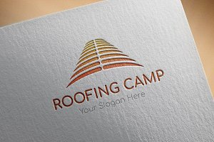 Roofing-Camp Logo Template