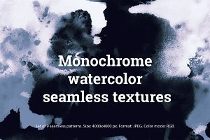 SALE: 9 watercolor seamless patterns