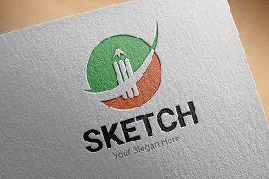 Sketch Logo Template
