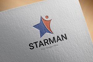 Starman Logo Template