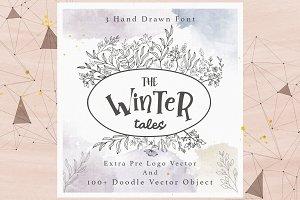 Winter Tales (Extra Logo Design)