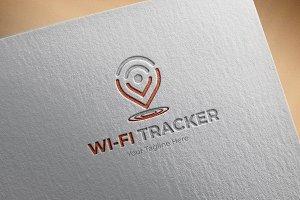 Wi-Fi Tracker Logo Template