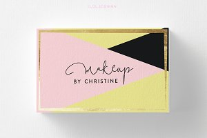 Modern Make Up Business Card