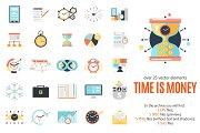 Time is Money Concept Set