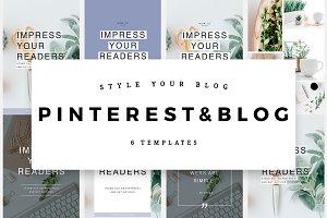 Pinterest & Blog