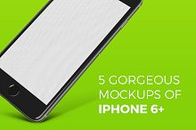 5 gorgeous mockups of iPhone 6+