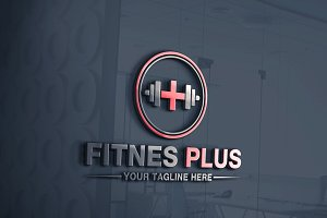 Fitness Plus | Logo Template
