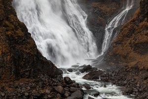 Rjukandafoss, beautiful waterfall