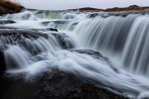 Reykjafoss, beautiful waterfall