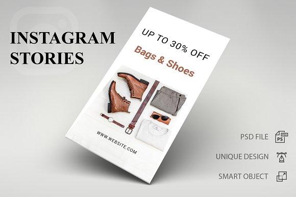 Instagram Stories Bags   Shoes - SK ~ Instagram Templates ~ Creative Market 104c9fcd29a